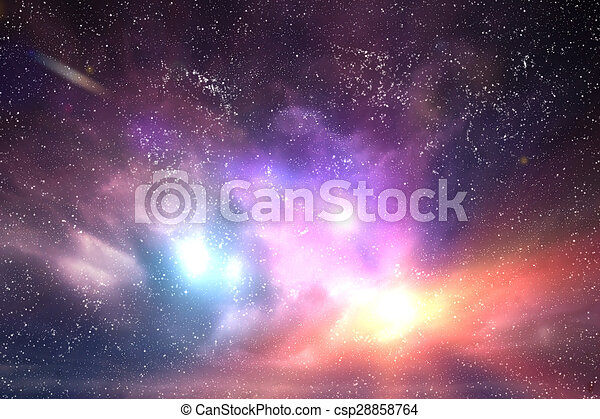 Galaxy, space sky. Stars, lights, fantasy background. Explore your dreams.