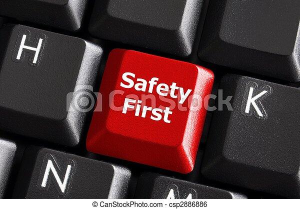 säkerhet, första - csp2886886