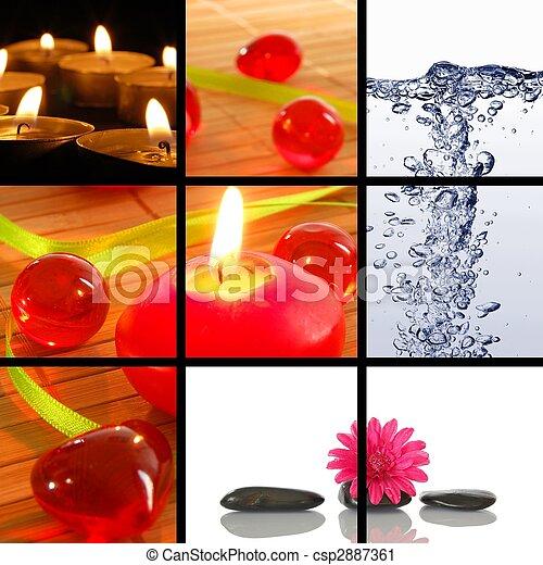 spa collage - csp2887361