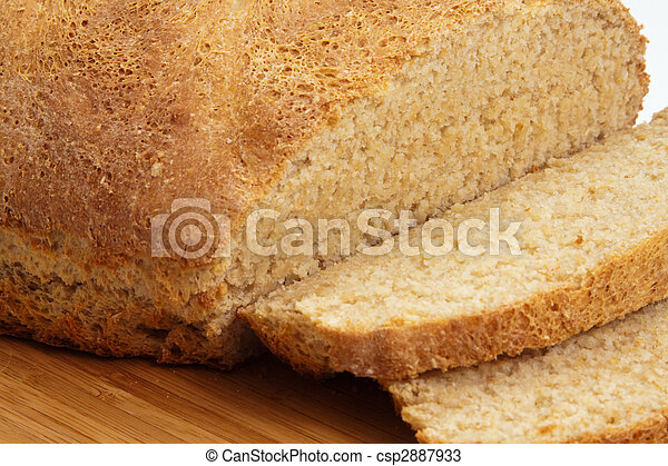 Home Made Wholemeal Bread - csp2887933