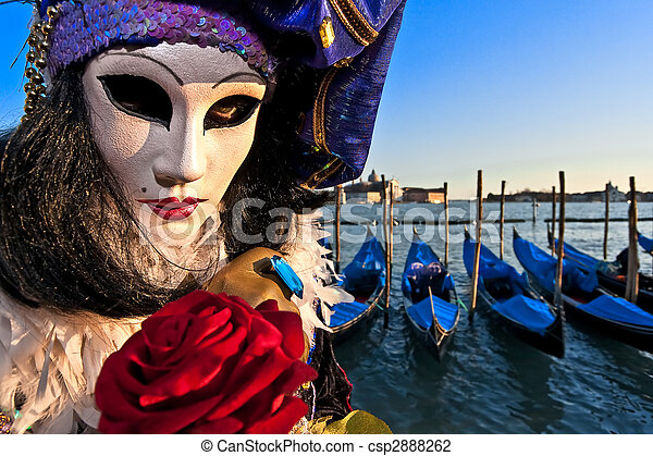 Mask in Venice, Italy - csp2888262
