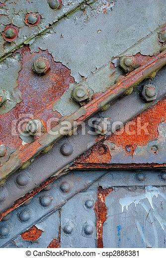 Rusty ironwork - csp2888381