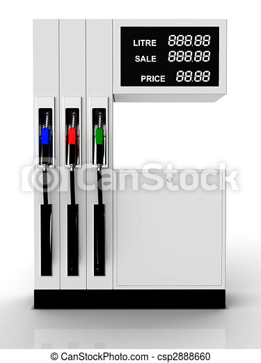 illustration de essence station 3d rendre facile variable co t csp2888660 recherchez des. Black Bedroom Furniture Sets. Home Design Ideas