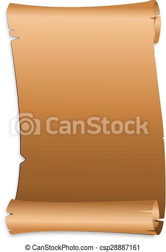 parchment - csp28887161