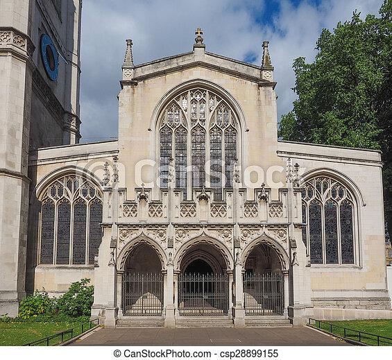 St Margaret Church in London - csp28899155