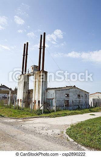 Industrial decay - csp2890222