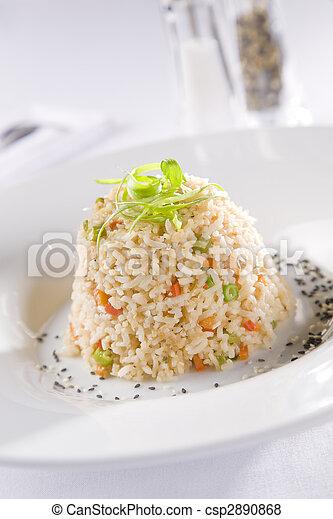 Vegetarian Risotto - csp2890868