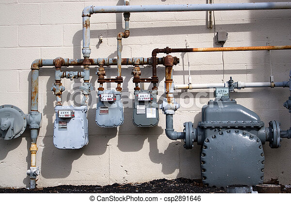 natural, tubos,  gas - csp2891646