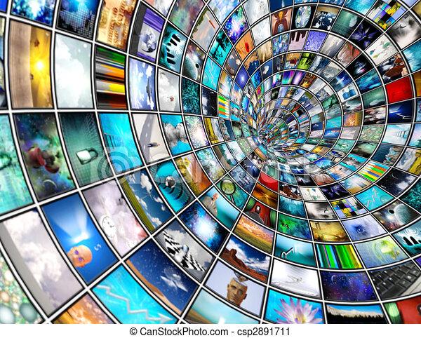 Broadcast Tunnel - csp2891711