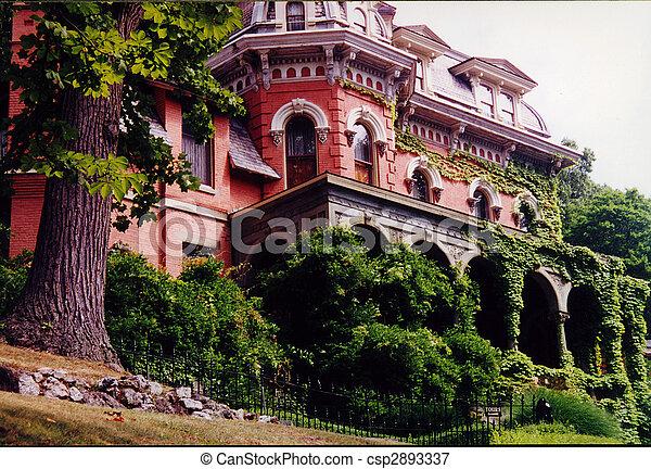 Harry Packer Mansion Jim Thorpe Pennsylvania - csp2893337