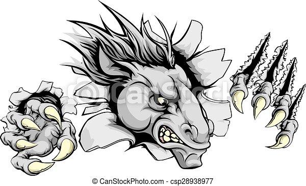 Colt Mascot Clip Art
