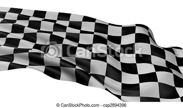 Checkered Flag - csp2894396