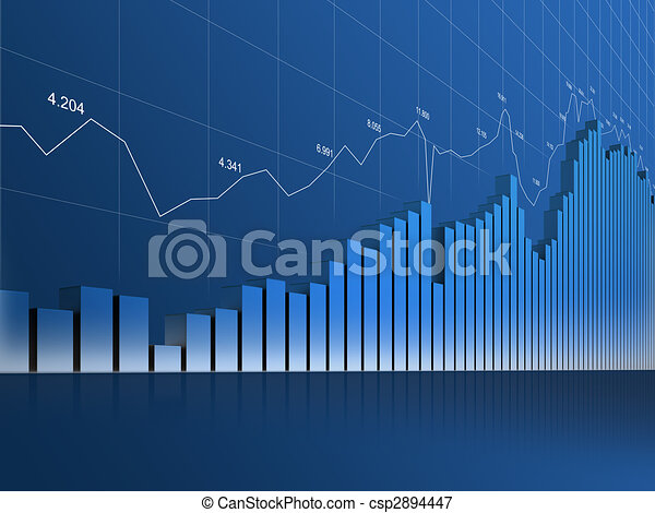 Loooong Chart, Grid and Numbers - csp2894447