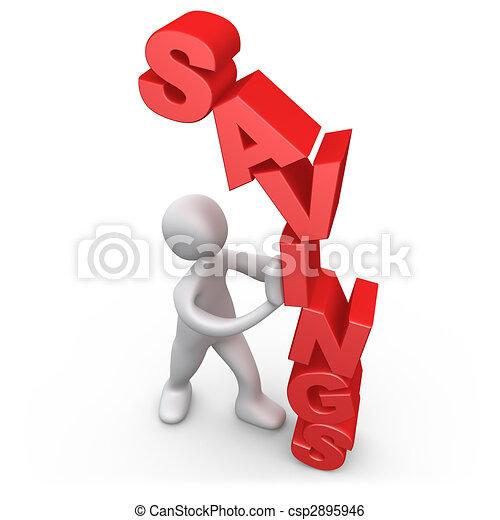 Savings - csp2895946