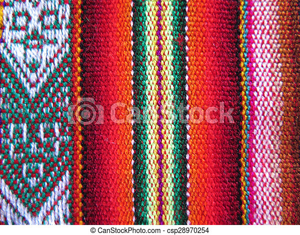 Stock im genes de am rica tejido indio sur telas sur for Telas del sur