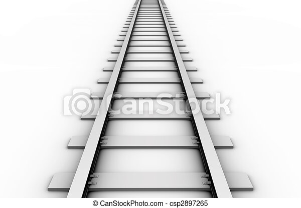 Rail track - csp2897265