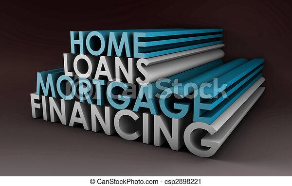 Home Loans - csp2898221