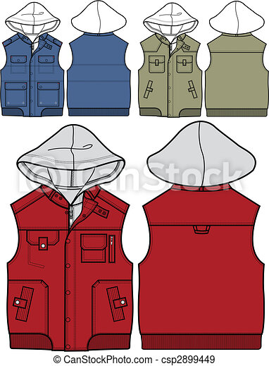 boy hoodies in 3 styles - csp2899449