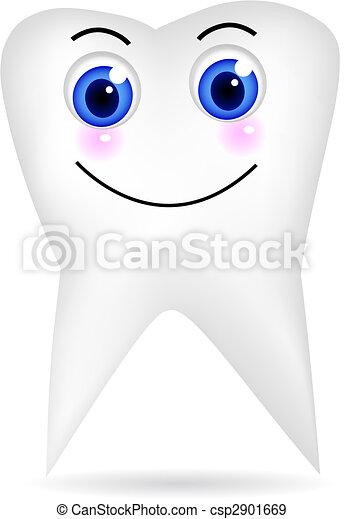 Happy tooth - csp2901669