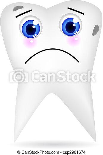 Sad Tooth - csp2901674