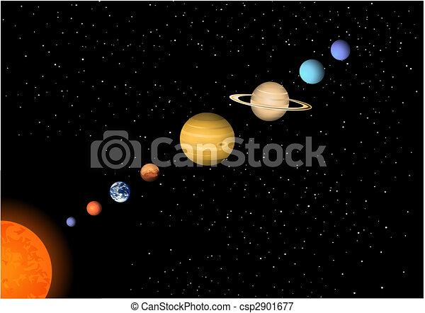 Solar system - csp2901677