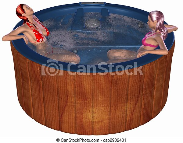 Hot tub Stock Illustrations. 302 Hot tub clip art images and ...