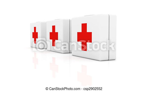 First aid cases - csp2902552