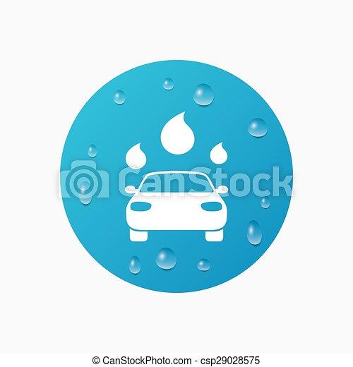 ベクター - 自動車, 洗いなさい ...