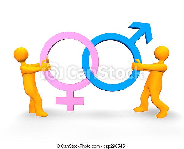 Battle Of The Sexes - csp2905451