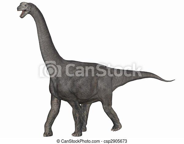 Camarasaurus-3D Dinosaur - csp2905673