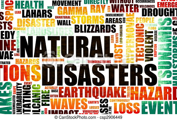 Natural Disasters - csp2906449