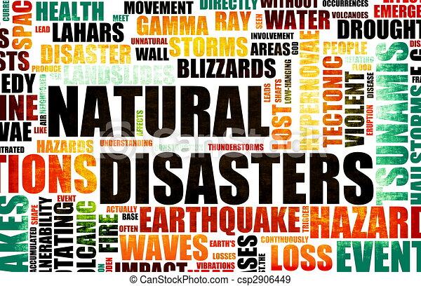 Natural Disasters - csp2906449