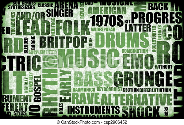 various types of music genres