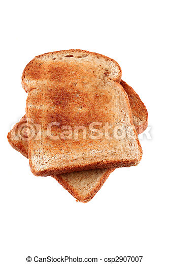 golden brown buttered toast - csp2907007