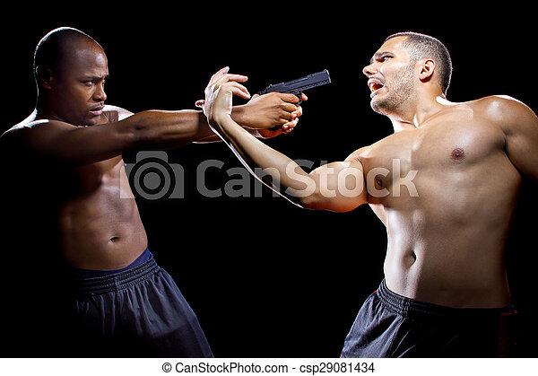 Self Defense Against A Gun