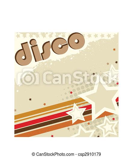 Disco Retro background - csp2910179