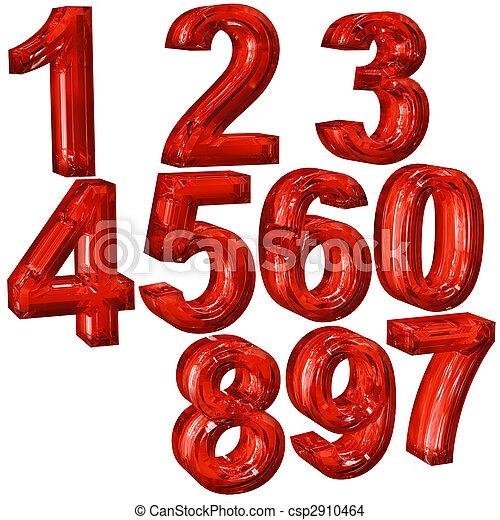 numerals - csp2910464