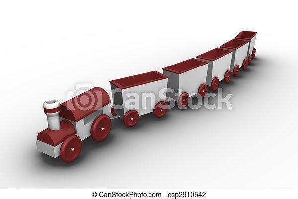 Toy train    - csp2910542