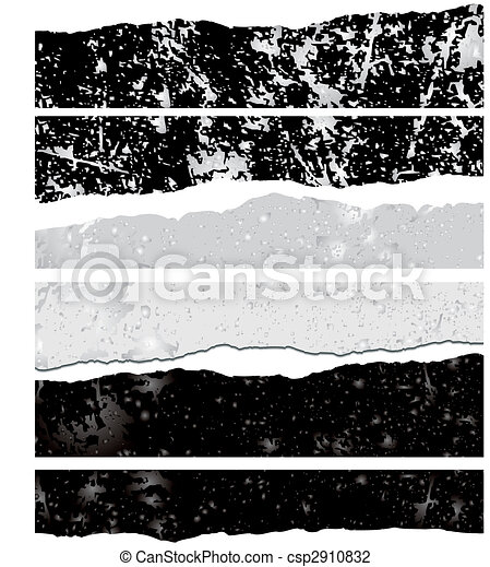 Vector backgrounds with scratches - csp2910832