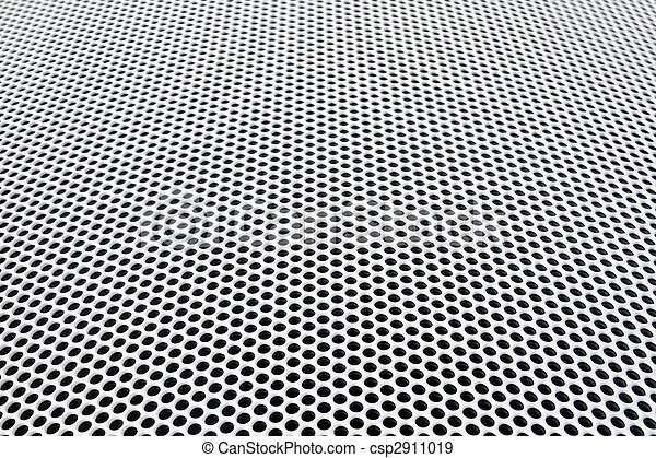 metal grid perspective - csp2911019