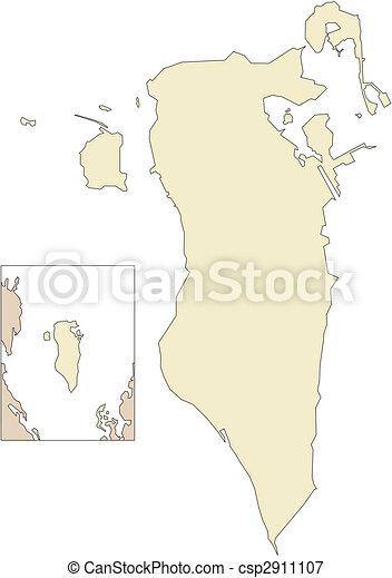 Bahrain, Middle East - csp2911107