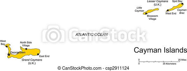 Cayman Islands, Caribbean Sea - csp2911124