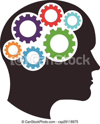 Brain cartoon clip art