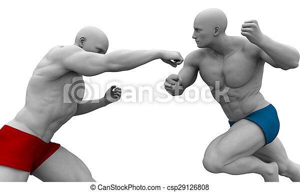 Martial Arts Training - csp29126808