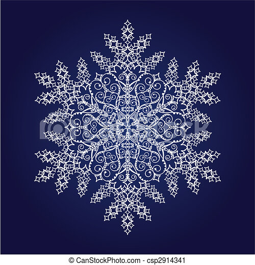 snowflake - stock illustration, royalty free illustrations, stock clip ...