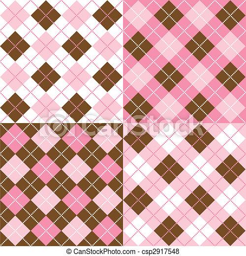 Argyle Patterns - csp2917548