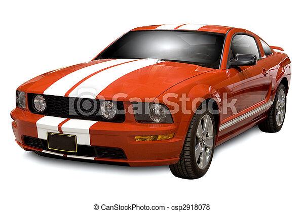 Auto, sport - csp2918078