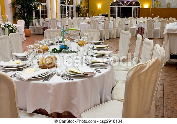 wedding reception - csp2918134