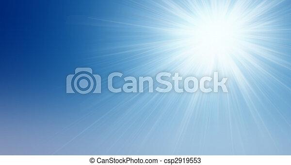 soleil, ciel - csp2919553