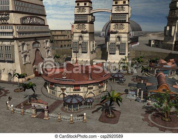 Fantasy City - csp2920589
